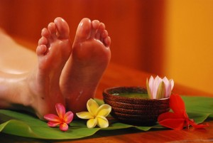 Ayurvedic-Foot-Massage