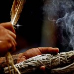 smudging-with-sage